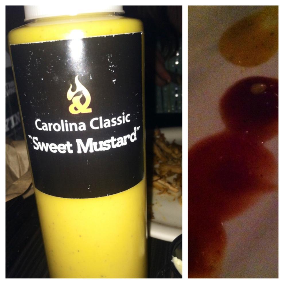 I love a good sauce.